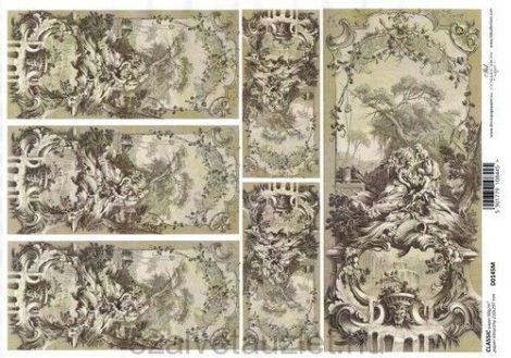 Decoupage papír D0145M