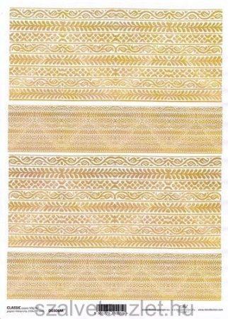Decoupage papír D0306M