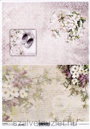 Decoupage papír D0590M