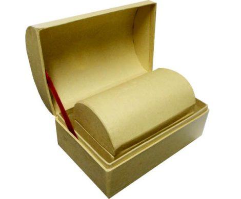 Papír kincsesláda doboz szett natúr f0039