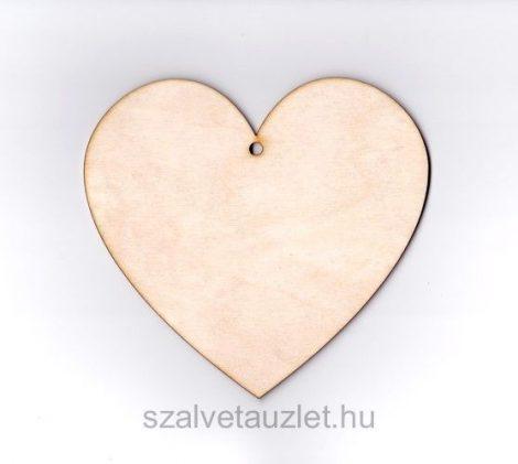 Fa szív 14*15 cm f0077