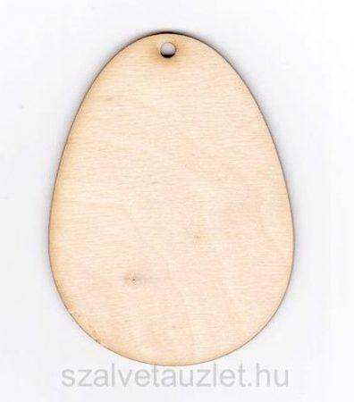 Fa tojás 12 cm f0078