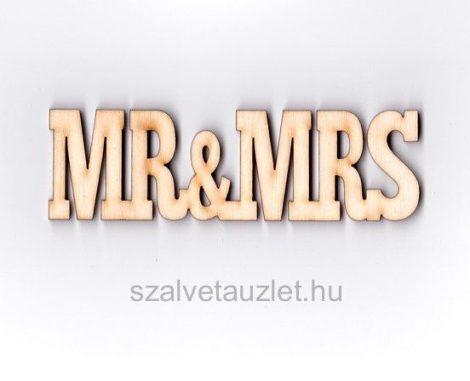 Fa Mr&Mrs felirat f1333