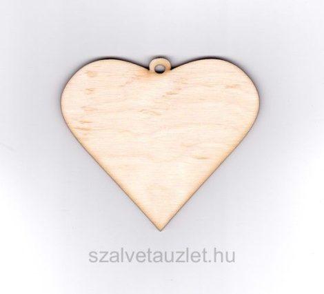 Fa rustique szív f1365