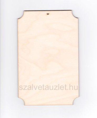 Fa tábla 20 cm -es f1591