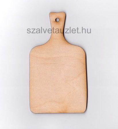 Fa vágódeszka kicsi 8,5*15 cm  f1668