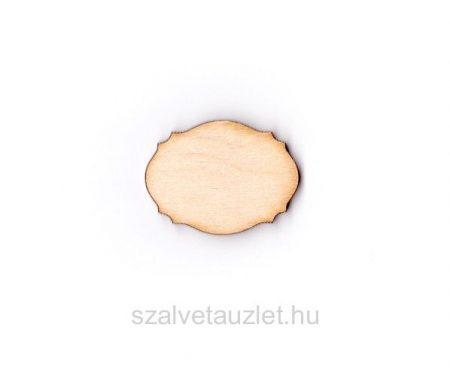 Fa vintage táblácska 3*4 cm f1744