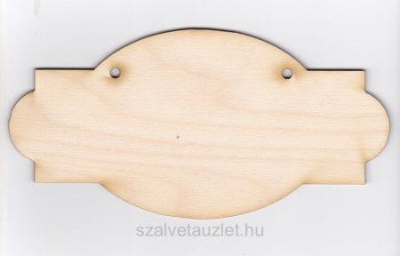 Fa szalon tábla f1834