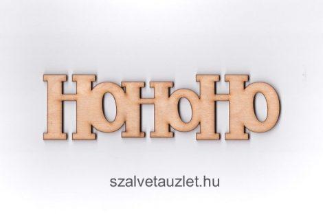 "Fa ""HoHoHo"" felirat f3563"