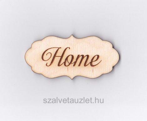 "Fa ""Home"" tábla f3662"