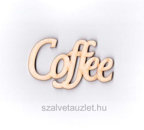 Fa Caffee felirat f3686
