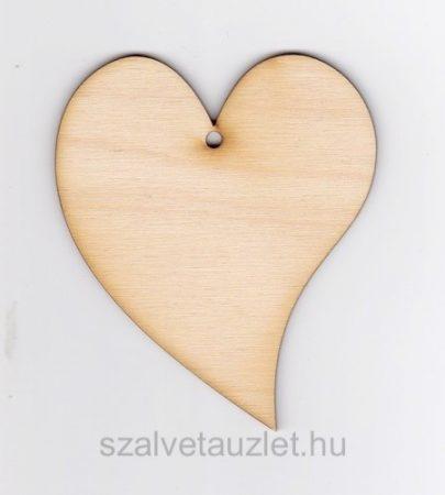 Francia szív 8,5*10,5 cm f4383
