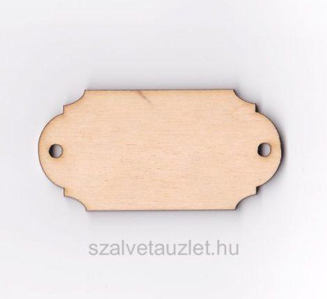 Fa egyenes címtábla f5116