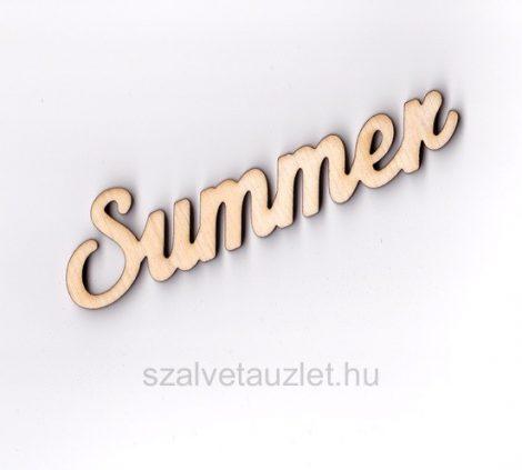 "Fa ""Summer"" felirat f5316"