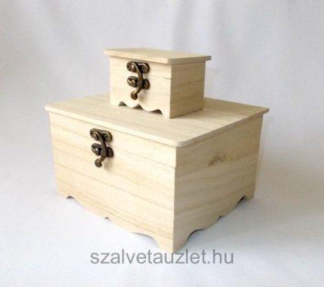 Fa doboz szett 2 részes f5598
