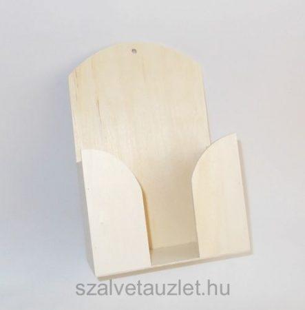 Fa papírzsepi tartó f6923