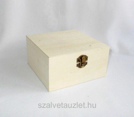 Fa Tea filter tartó doboz 4 rekeszes f9588