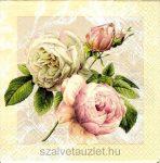 Szalvéta i1467 Cottage Rose