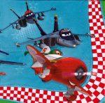 Szalvéta i3669 Planes