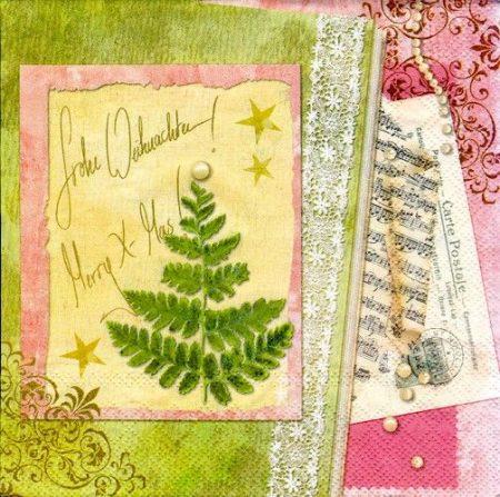 Szalvéta i4120 Christmas Greetings