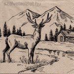 Szalvéta n4527