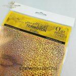 Transfer Fólia Metal Csillogó Arany p0021