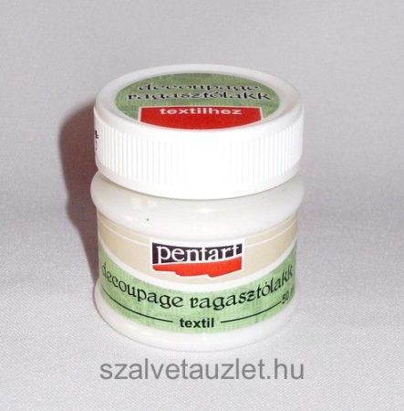 Textil decoupage ragasztólakk 50 ml p0654