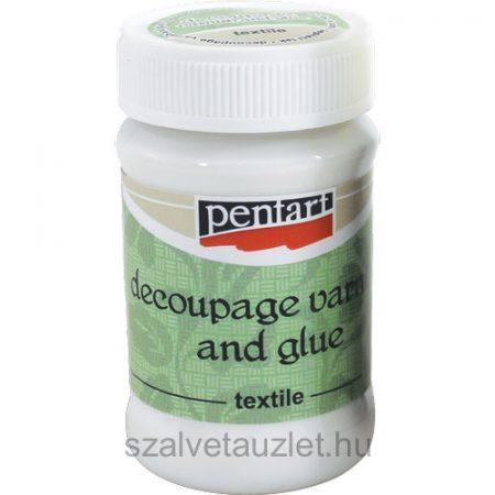 Textil decoupage ragasztólakk 100 ml p1456
