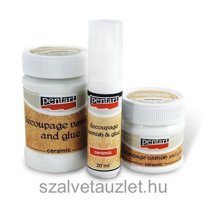 Kerámia decoupage ragasztólakk 50 ml p1464