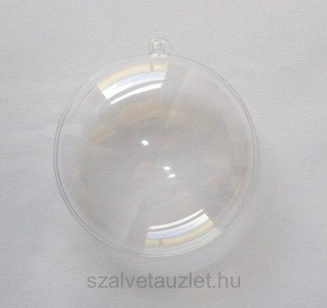 Műanyag lencse nagy 9cm p7682