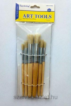 Ecset készlet 6 részes Stencilhez p8060