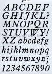 Stencil p8153