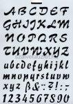 Stencil p8154