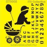 Stencil ST0008