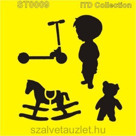 Stencil ST0009