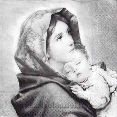 Szalvéta v0059 Madonna