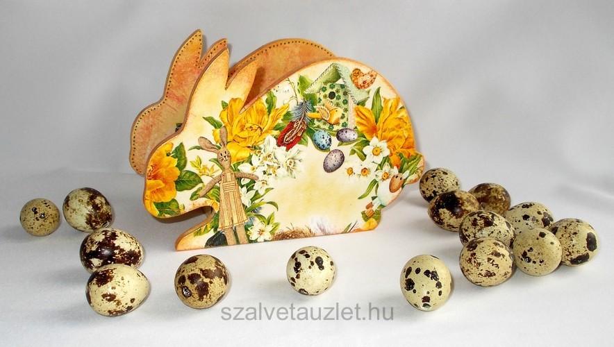 Nyúl - húsvéti asztali tartó