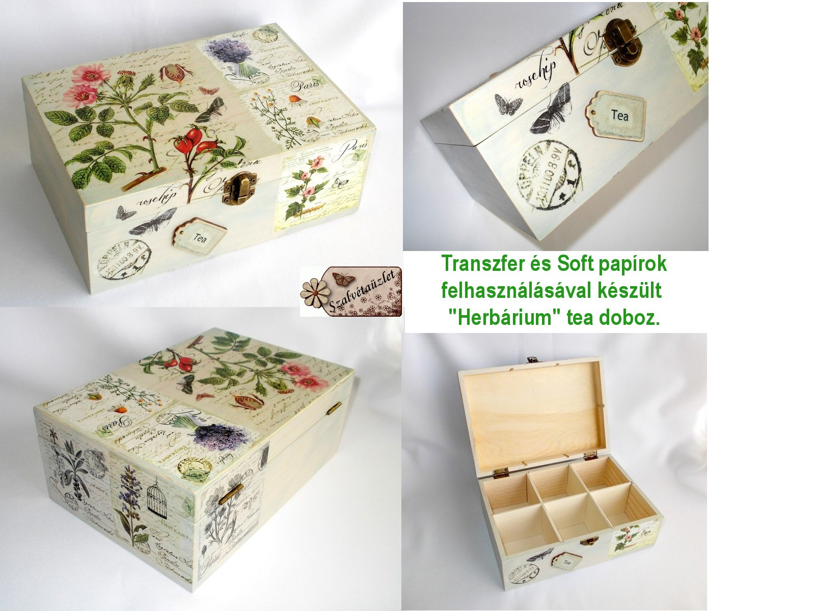 Herbárium doboz