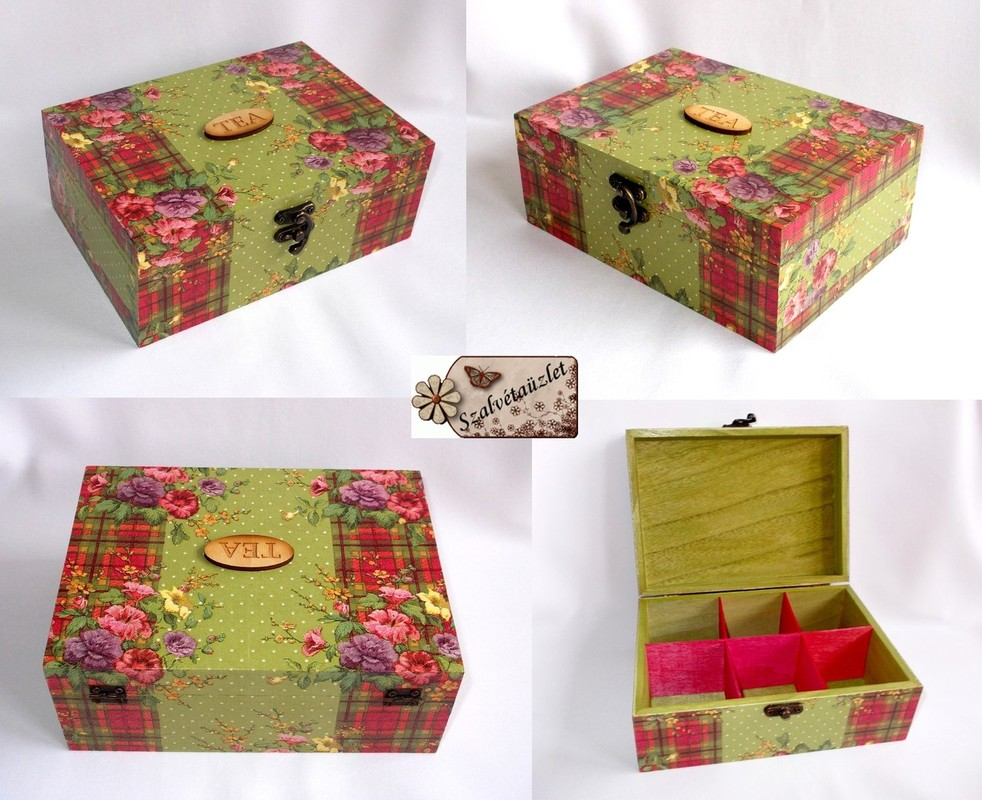 Katie Alice Teás doboz