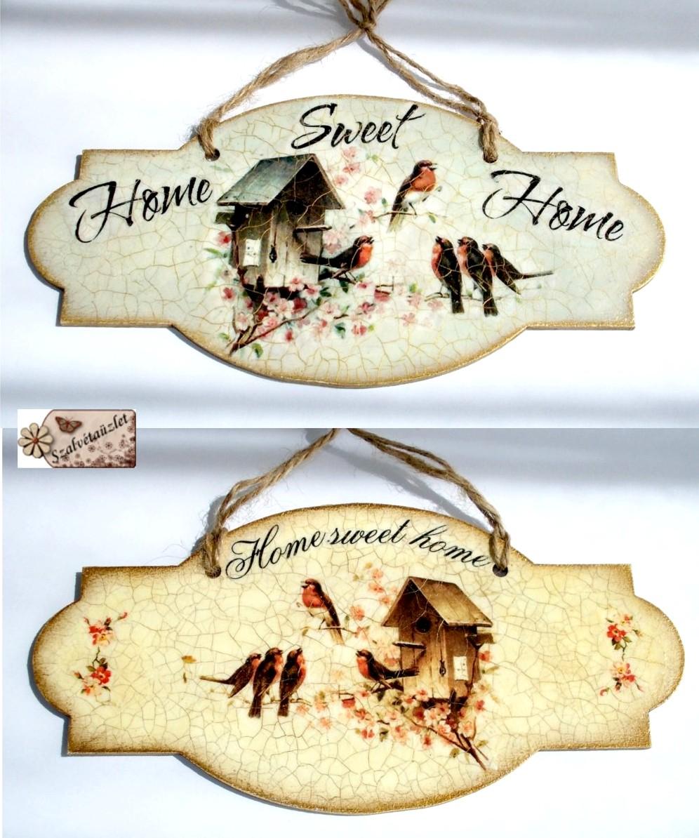 Édes otthon táblák