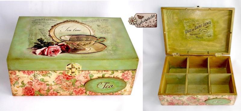 Tea doboz