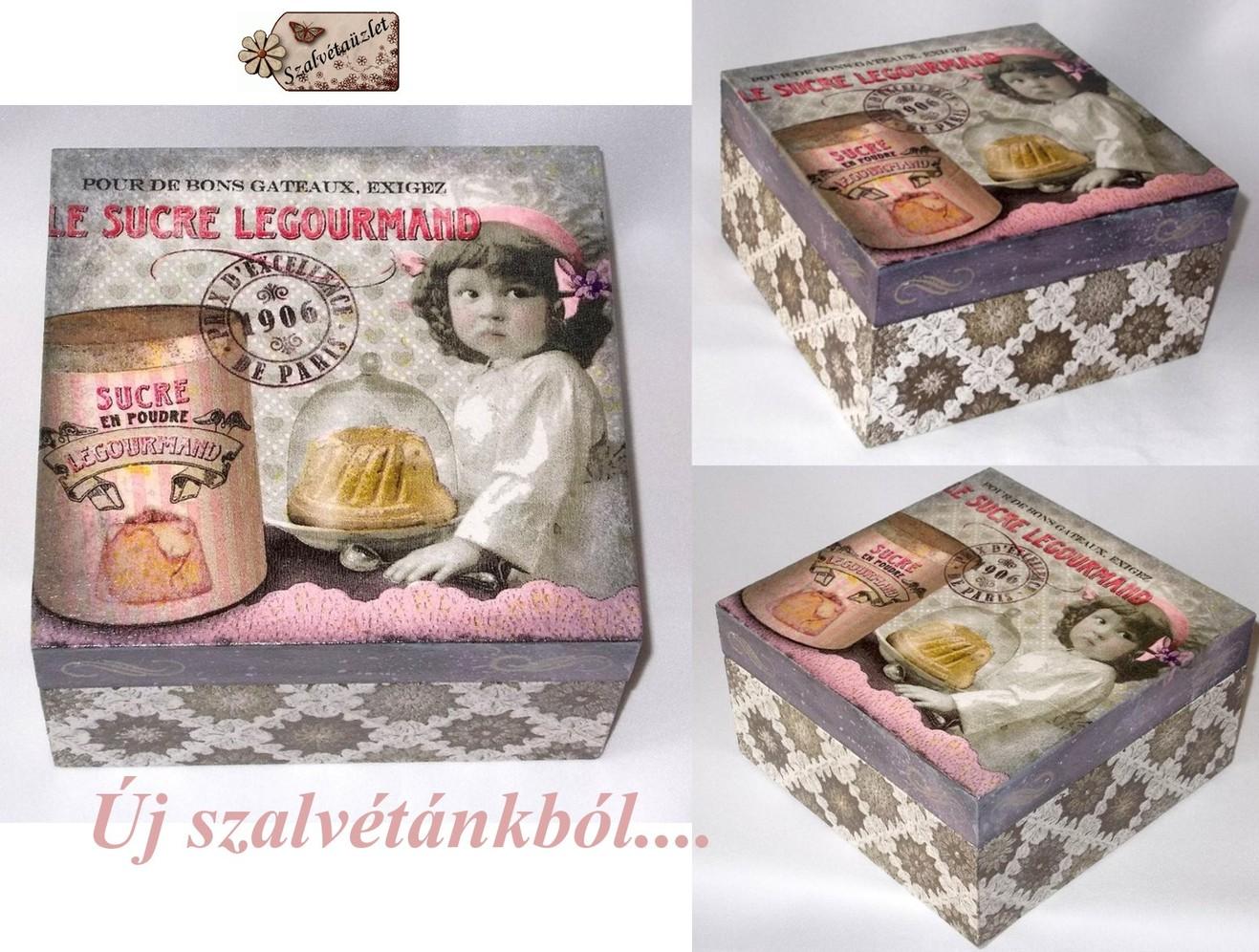 Sütis-teás doboz