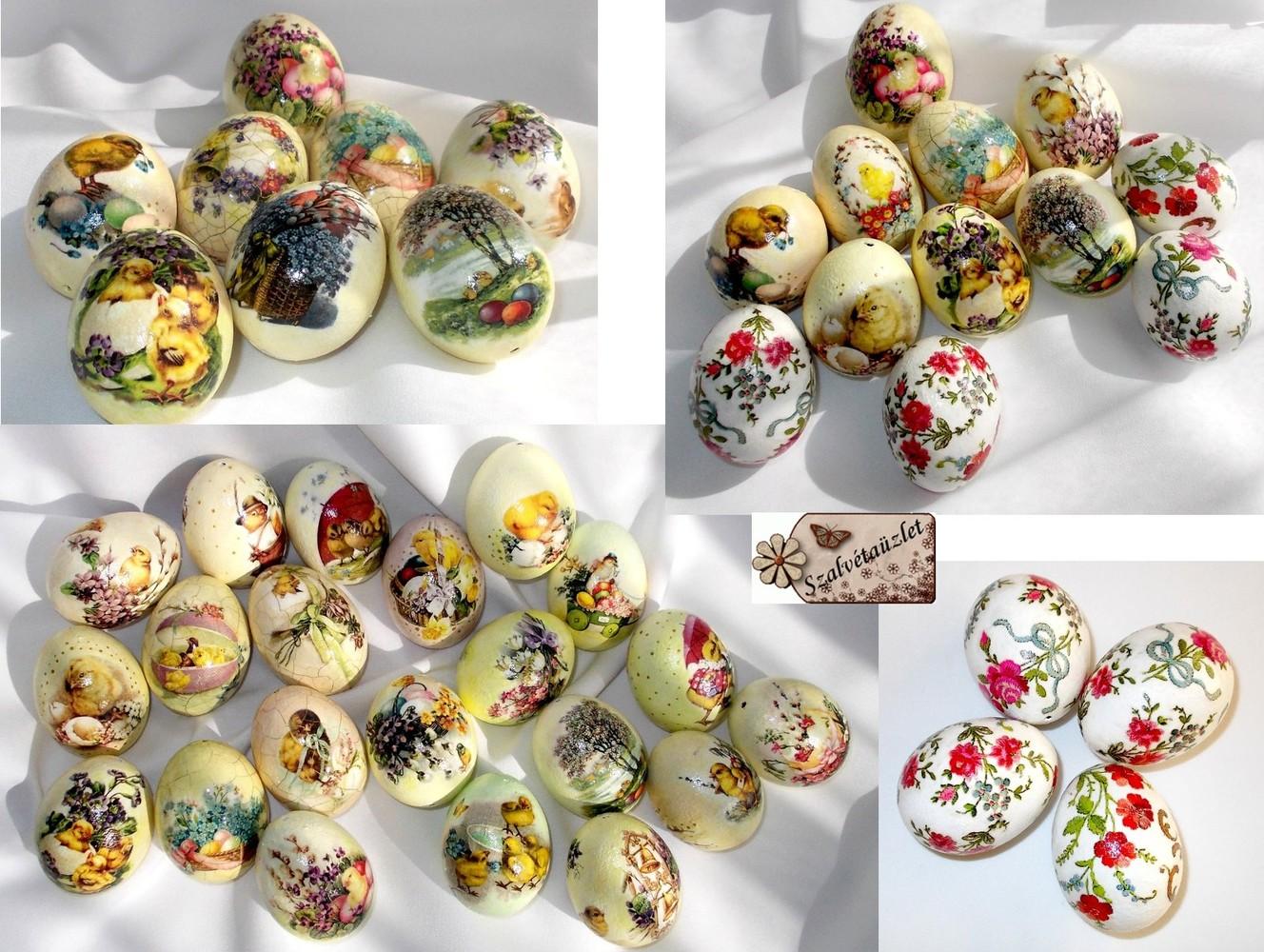 Klasszikus húsvéti tojások